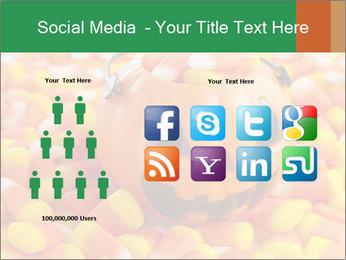 Halloween Candy Corn PowerPoint Template - Slide 5