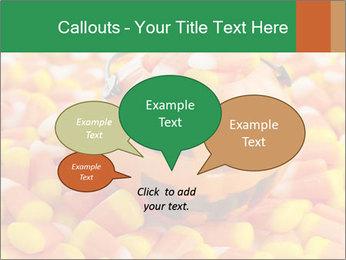 Halloween Candy Corn PowerPoint Template - Slide 73