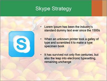 Halloween Candy Corn PowerPoint Template - Slide 8