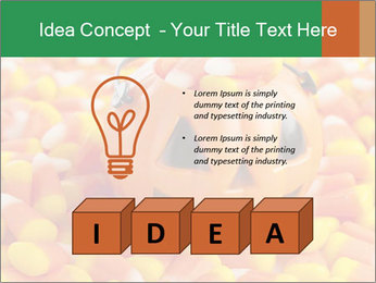 Halloween Candy Corn PowerPoint Template - Slide 80