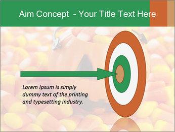 Halloween Candy Corn PowerPoint Template - Slide 83