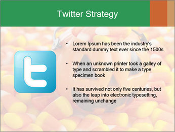 Halloween Candy Corn PowerPoint Template - Slide 9