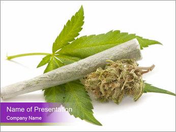 Cannabis PowerPoint Templates - Slide 1