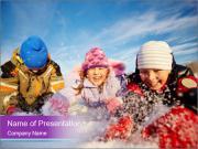 Joyful kids PowerPoint Templates