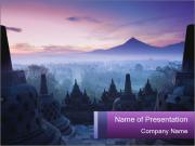 Borobudur Temple PowerPoint Templates