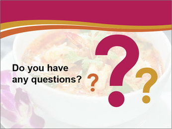 Tom Yam Kung PowerPoint Template - Slide 96
