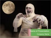 Halloween Mummy PowerPoint Templates