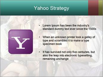Women drinking coffee PowerPoint Template - Slide 11