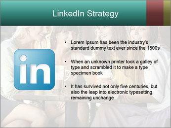 Women drinking coffee PowerPoint Template - Slide 12