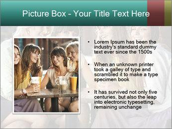 Women drinking coffee PowerPoint Template - Slide 13