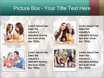 Women drinking coffee PowerPoint Template - Slide 14