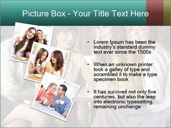 Women drinking coffee PowerPoint Template - Slide 17