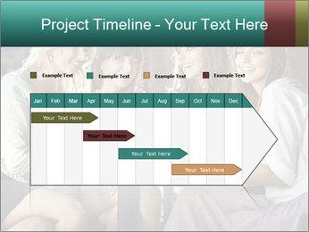 Women drinking coffee PowerPoint Template - Slide 25