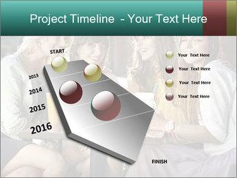 Women drinking coffee PowerPoint Template - Slide 26