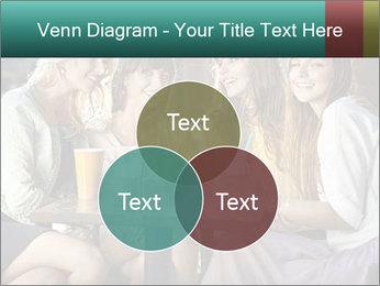 Women drinking coffee PowerPoint Template - Slide 33