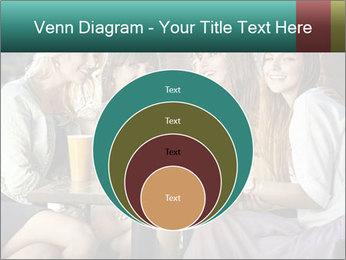 Women drinking coffee PowerPoint Template - Slide 34