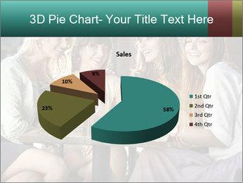 Women drinking coffee PowerPoint Template - Slide 35