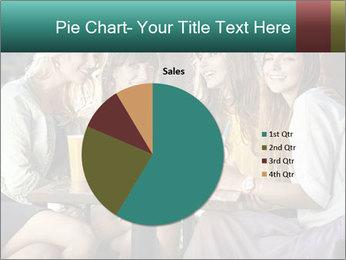 Women drinking coffee PowerPoint Template - Slide 36