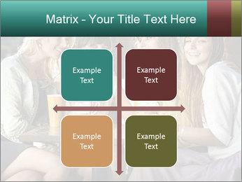 Women drinking coffee PowerPoint Template - Slide 37