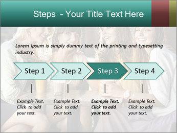 Women drinking coffee PowerPoint Template - Slide 4