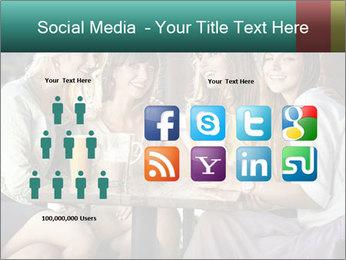Women drinking coffee PowerPoint Template - Slide 5