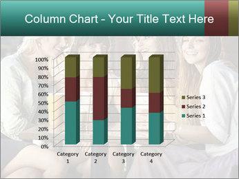 Women drinking coffee PowerPoint Template - Slide 50