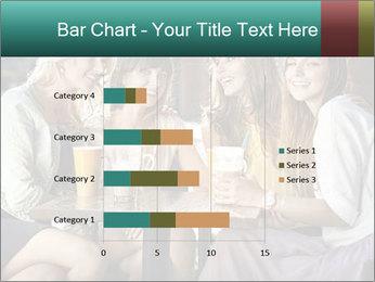 Women drinking coffee PowerPoint Template - Slide 52