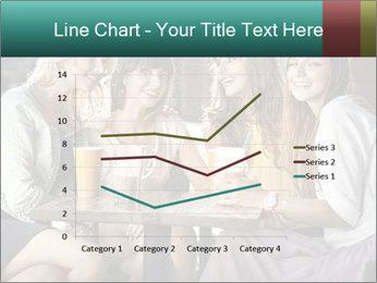 Women drinking coffee PowerPoint Template - Slide 54