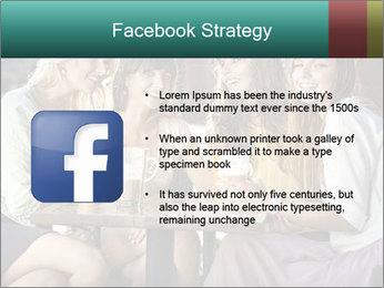 Women drinking coffee PowerPoint Template - Slide 6
