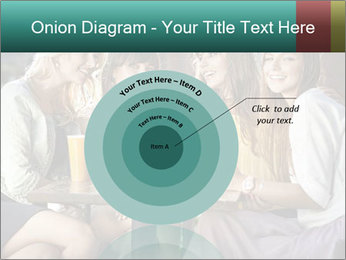 Women drinking coffee PowerPoint Template - Slide 61