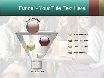 Women drinking coffee PowerPoint Template - Slide 63