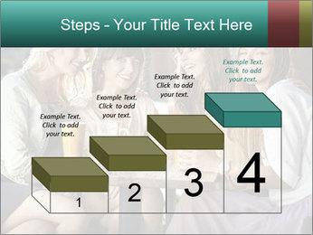 Women drinking coffee PowerPoint Template - Slide 64