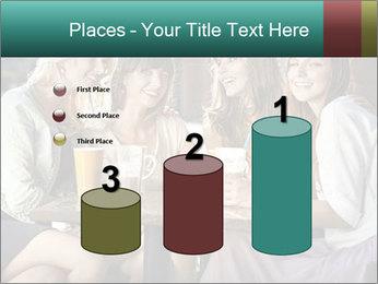 Women drinking coffee PowerPoint Templates - Slide 65