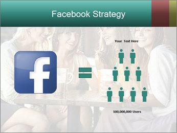 Women drinking coffee PowerPoint Template - Slide 7