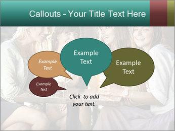 Women drinking coffee PowerPoint Template - Slide 73