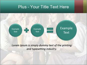 Women drinking coffee PowerPoint Template - Slide 75