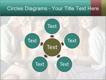 Women drinking coffee PowerPoint Template - Slide 78