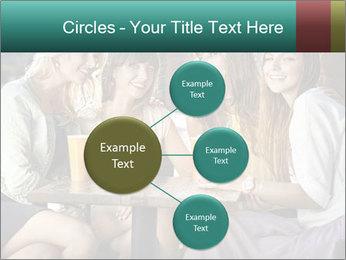 Women drinking coffee PowerPoint Template - Slide 79