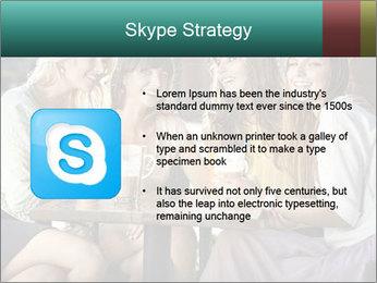 Women drinking coffee PowerPoint Template - Slide 8