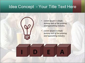 Women drinking coffee PowerPoint Templates - Slide 80