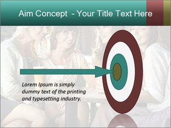 Women drinking coffee PowerPoint Template - Slide 83