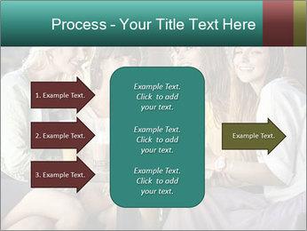 Women drinking coffee PowerPoint Template - Slide 85