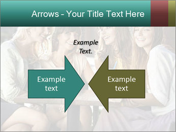 Women drinking coffee PowerPoint Templates - Slide 90