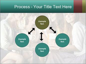 Women drinking coffee PowerPoint Template - Slide 91
