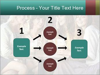 Women drinking coffee PowerPoint Template - Slide 92