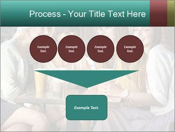 Women drinking coffee PowerPoint Template - Slide 93
