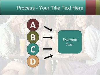 Women drinking coffee PowerPoint Template - Slide 94