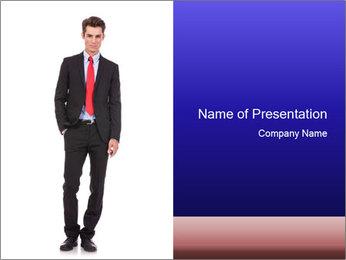Modern business man PowerPoint Template