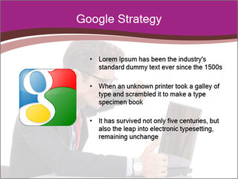 Angry business man PowerPoint Templates - Slide 10