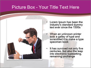 Angry business man PowerPoint Templates - Slide 13